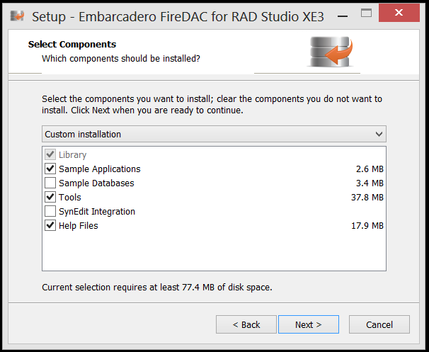 Instalando o FireDac no RAD STUDIO XE3 (3/6)