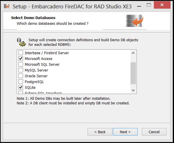 Instalando o FireDac no RAD STUDIO XE3 (5/6)