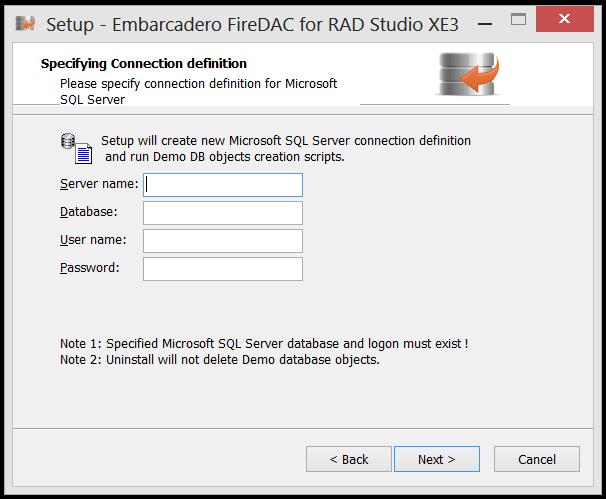 Instalando o FireDac no RAD STUDIO XE3 (6/6)