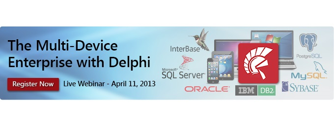 Webinar: The Multi-Device Enterprise with Delphi