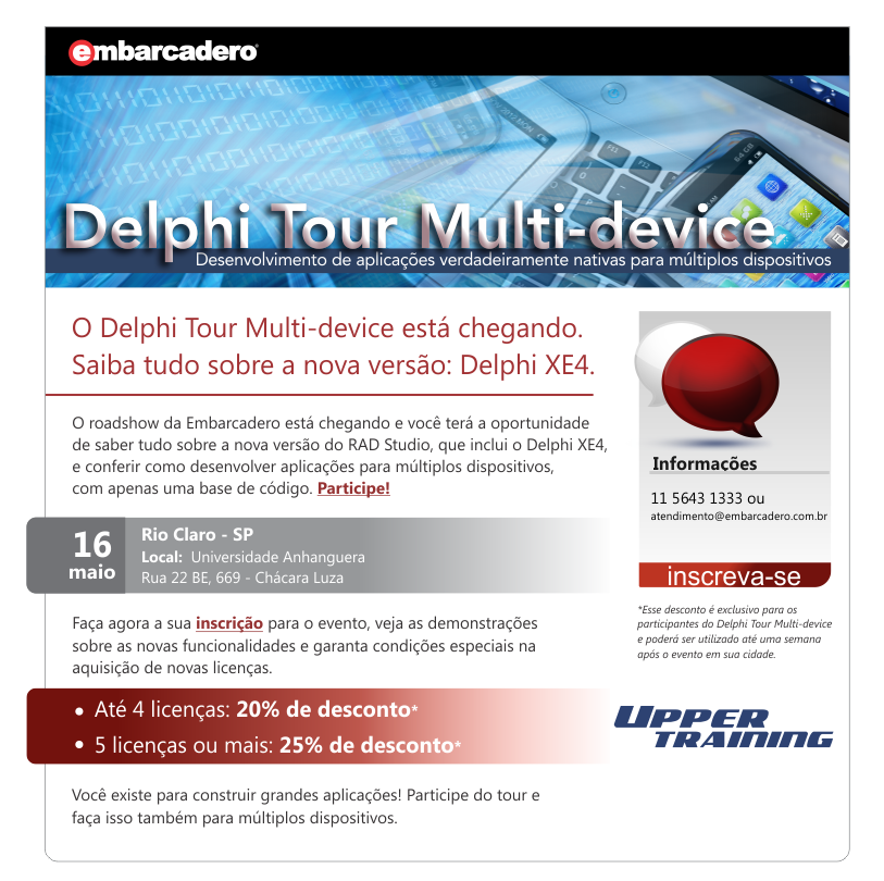 Delphi Tour Multi-device