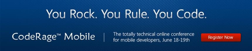 CodeRage Mobile - Imperdível