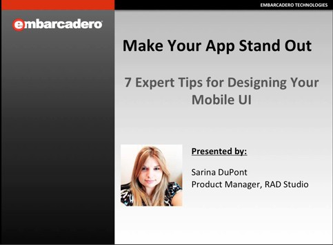 7 Expert Tips fo Designing You Mobile UI