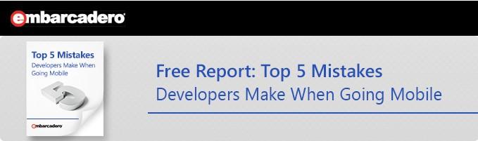 Cinco Erros Comuns dos Desenvolvedores que Começam em Mobile