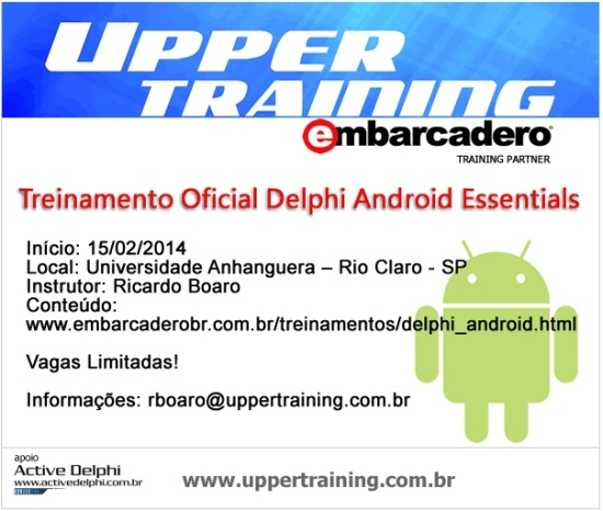 Treinamento Delphi Android Essentials