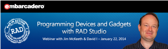 Making the Connection: Programming Devices and Gadgets with RAD Studio