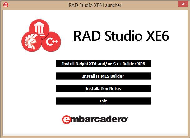 Apresentamos o RAD Studio XE6