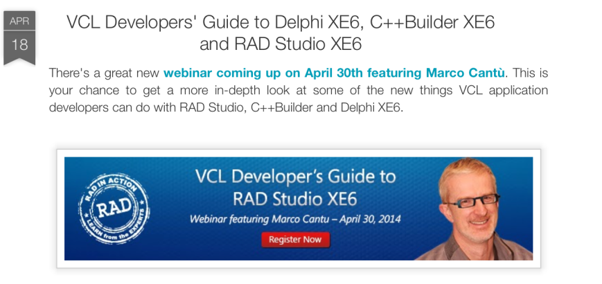 RAD in Action: VCL Developer's Guide to RAD Studio XE6