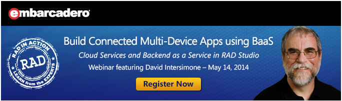 RAD in Action: Build Connected Multi-Device Apps using BaaS