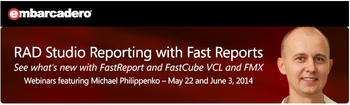 RAD Studio Reporting with Fast Reports