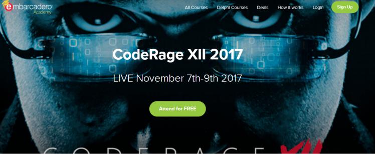CodeRage XII Embarcadero Academy - Opera