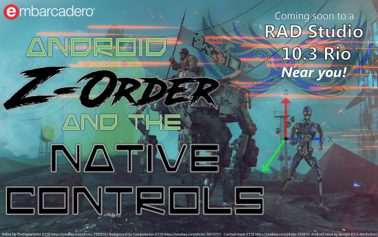 Attack of Android Z-Order and the Native Controls